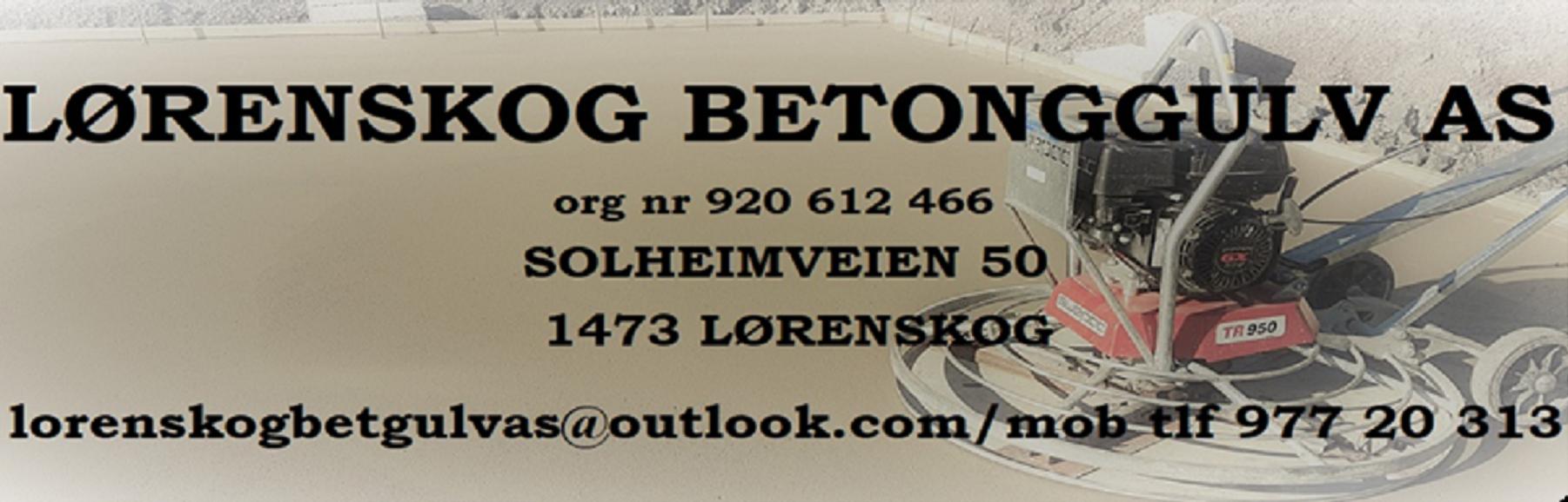 Lørenskog Betonggulv As
